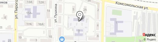 Детский сад №6 на карте Жигулёвска