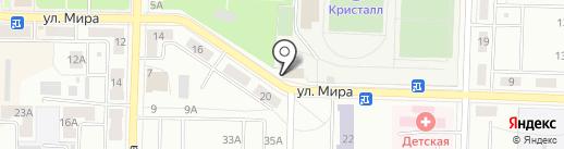 Фотоателье на карте Жигулёвска