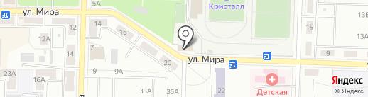 Алмакс на карте Жигулёвска