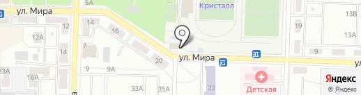 Solina на карте Жигулёвска