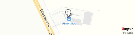 Автоарена на карте Васильевки
