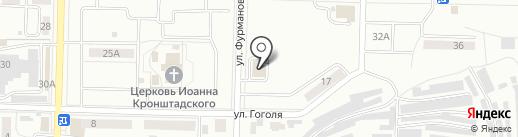 Квартирный ряд на карте Жигулёвска