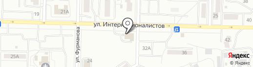 Центр занятости населения городского округа Жигулёвск на карте Жигулёвска