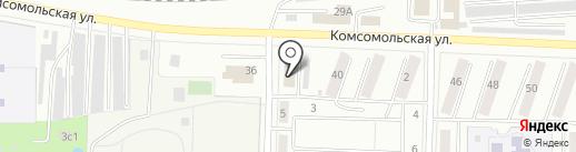Отдел пособий на карте Жигулёвска