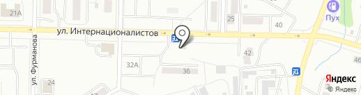Просто магазин на карте Жигулёвска