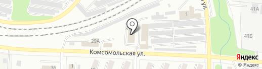 Земельная кадастровая палата городского округа Жигулёвск на карте Жигулёвска