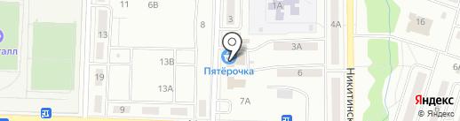 Лада на карте Жигулёвска
