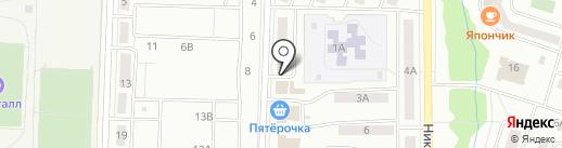 Магазин бытовой химии на карте Жигулёвска