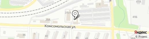 ЖигулёвскСтройЗаказчик, МКУ на карте Жигулёвска
