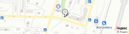 Ник на карте Жигулёвска