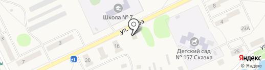 Березка на карте Дороничей