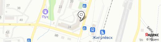 Ремонтная мастерская на карте Жигулёвска