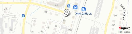Система Ниппель на карте Жигулёвска