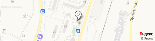 Эдо на карте Жигулёвска