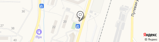 Московская ярмарка на карте Жигулёвска