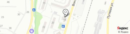 Вист на карте Жигулёвска