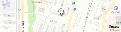 Дива на карте Жигулёвска