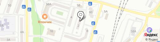 Телеантенны на карте Жигулёвска