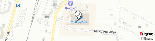 Флинт на карте Жигулёвска