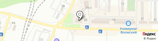 Магазин женской обуви на карте Жигулёвска