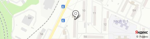 Афродита на карте Жигулёвска