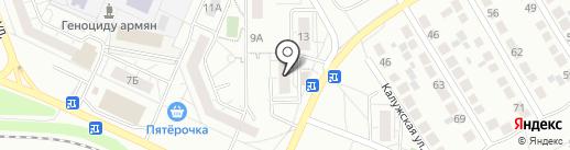 Фирменная алкогольная розничная торговля на карте Тольятти
