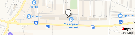 Пуфик на карте Жигулёвска