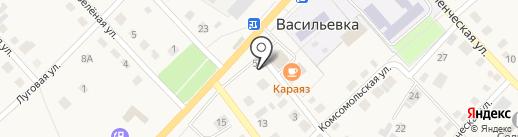 Кит на карте Васильевки