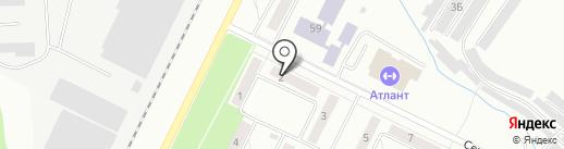 Алди на карте Жигулёвска
