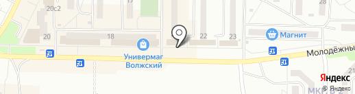 Торгово-производственная компания на карте Жигулёвска