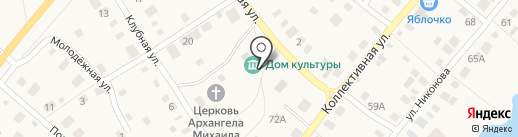 Библиотека на карте Васильевки