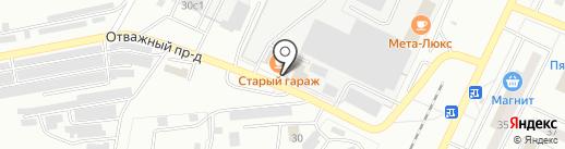 Жигулёвское автотранспортное предприятие на карте Жигулёвска