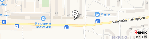 Продуктовый магазин на карте Жигулёвска