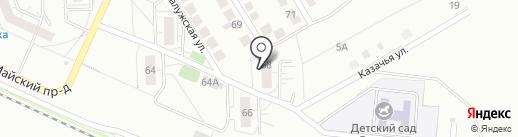 Продовольственный магазин на карте Тольятти