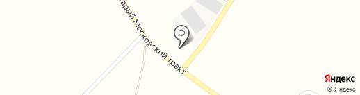 Шиномонтажная мастерская на карте Садаковского