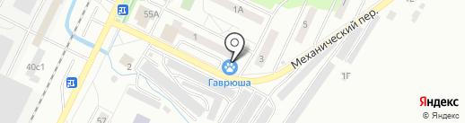 Сарафан на карте Жигулёвска