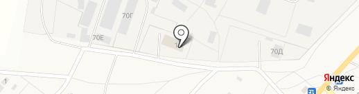 Васильевская брусчатка на карте Васильевки