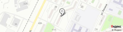 ДОМ-41 на карте Жигулёвска