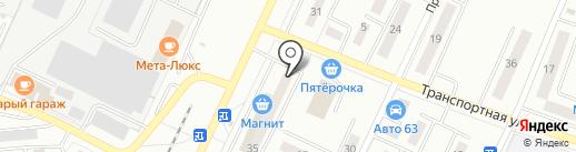 Пашковы на карте Жигулёвска