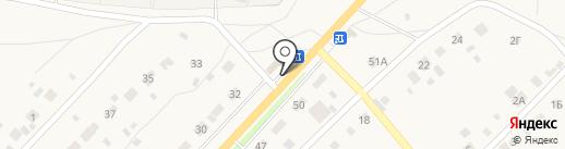 Магазин продуктов на карте Васильевки