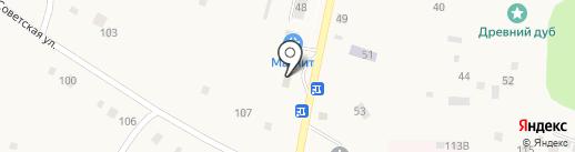 Магазин хозтоваров на карте Соснового Солонца