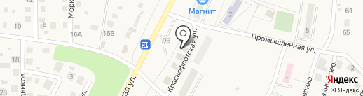 Магазин домашнего текстиля на карте Жигулёвска