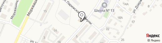 Салон памятников на карте Жигулёвска