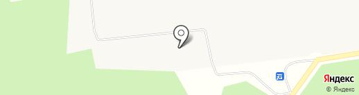 Бумага на карте Гирсово