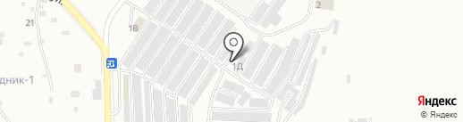 Ариэс на карте Жигулёвска