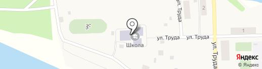 Основная общеобразовательная школа пос. Гирсово на карте Гирсово