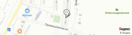 Библиотека №4 на карте Жигулёвска