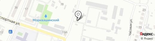 Жигулёвская воспитательная колония на карте Жигулёвска