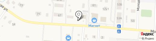 Универсальный магазин промтоваров на карте Садаковского