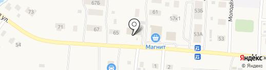 Промтовары, универсальный магазин на карте Садаковского
